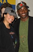 Sophia Luke and Derek Luke at the Los Angeles Screening of