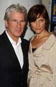 Richard Gere and Carey Lowell at the Los Angeles Screening of