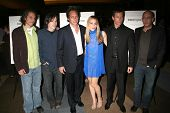 Hawk Ostby, Mark Fergus, William Fichtner, Piper Perabo, Guy Pearce and Bob Yari at the Los Angeles