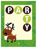 8.5x11 Christmas Party Flyer/Poster Template