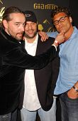 Laurent Planeix with Dave Rodriguez and Steven Bauer at the Los Angeles Runway Debut of Marceau. Boulevard3, Hollywood, CA. 03-29-07