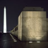 Washington Monument, Dc, At Night