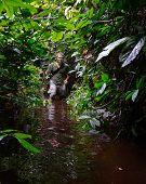 Man In The Bog