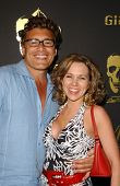 Steven Bauer and Theresa Navarrette at the Los Angeles Runway Debut of Marceau. Boulevard3, Hollywood, CA. 03-29-07