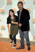 George Lopez and daughter Pedra at Nickelodeon's 20th Annual Kids' Choice Awards. Pauley Pavillion,