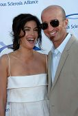 Teri Hatcher and Stephen Kay at the 6th Annual Comedy For A Cure Benefit hosted by the Tuberous Scle