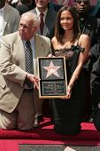Johnny Grant and Halle Berry at the ceremony honoring Halle Berry with the 2,333rd star on the Holly