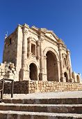 Details of the Arch of Hadrian, Jerash - Jordan
