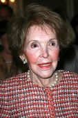 Nancy Reagan at the Saks Fifth Avenue and Colleagues Annual Spring Luncheon honoring Brooke Shields.