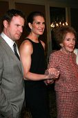 Chris Henchy with Brooke Shields and Nancy Reagan at the Saks Fifth Avenue and Colleagues Annual Spr