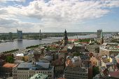 Aerial View To Riga