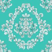 Seamless Tiling Floral Wallpaper Pattern