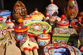 Traditional Souvenirs from Russia
