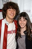 Matthew Underwood and Cassidy Lehrman at a Fashion and Music Extravaganza Promoting Human Rights for