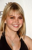 Aimee Teegarden at an Escada 2007 Fall Winter Sneak Preview to Benefit Step Up Women's Network. Beve
