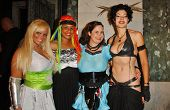 Ms. Limelight and Braid with Hygena and Basura at the