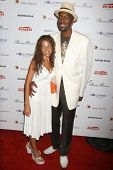 John Salley and wife Natasha at the DESIGNCARE 2007 Fundraiser to benefit those battling debilitatin