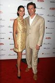 Angie Harmon and Jason Sehorn at the DESIGNCARE 2007 Fundraiser to benefit those battling debilitating disease and life circumstances. Private Residence, Malibu, CA. 07-21-07