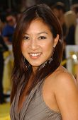 Michelle Kwan at the World Premiere of