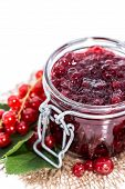Portion Of Red Currant Jam