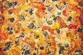 Close-up Of Italian Pizza