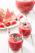 Red Melon Juice