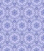 Dark Bllue  Pattern On A Light Blue Background