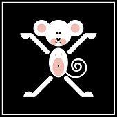 One Of Chinese Zodiac Signs - Monkey