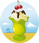 Ice Cream Cup - Holiday Refreshing