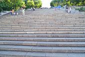 Potemkin Stairs In Odessa City
