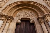 Archivolts In The Romanesque Style Door Of San Isidoro Collegiate In Leon