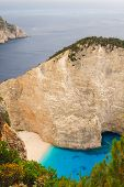 Shipwreck Bay, navagio Beach,  Zakynthos, Greece