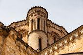 Detail Of The Dome  In The Romanesque Collegiate Church Of Toro In Zamora