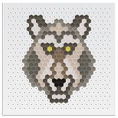 Mosaic Wolf
