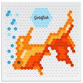 Mosaic Goldfish