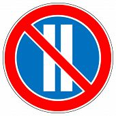 Постер, плакат: No Parking On Even Days Of The Month
