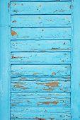 Blue shutter background