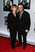 NEW YORK-JAN 12: Lyricist Cynthia Weil (L) and composer Barry Mann attend 'Beautiful - The Carole Ki