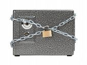 Safe box in chains