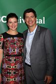 LOS ANGELES - JUL 13:  Casey Wilson, Ken Marino at the NBCUniversal July 2014 TCA at Beverly Hilton