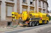 picture of tank truck  - Sewage  - JPG