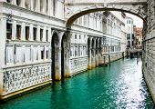 Bridge of Sighs - Ponte dei Sospiri. A legend says that lovers will be granted eternal love if they