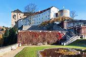 Medieval Castle Becov Nad Teplou, Czech Republic