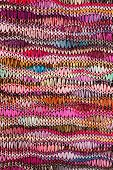 Fabric with colorful pattern