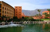 Egypt, Taba, Intercontinental Taba Heights Resort 5 *. Salt Lake On The Territory Of Hotel