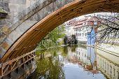 Riverbank Under The Bridge