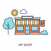 My Shop Illustration