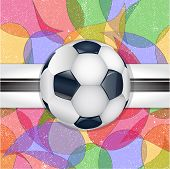 Abstract football background.