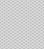 Wave endless seamless pattern