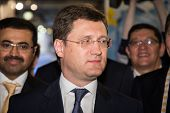 MOSCOW, RUSSIA, JUNE, 16: Russian Energy Minister Alexander Novak. 21st WPC, June, 16, 2014 at Crocus Expo  in Moscow, Russia